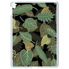 Autumn Fallen Leaves Dried Leaves Apple Ipad Pro 9 7   White Seamless Case