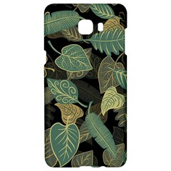Autumn Fallen Leaves Dried Leaves Samsung C9 Pro Hardshell Case  by Nexatart