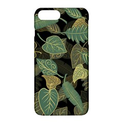 Autumn Fallen Leaves Dried Leaves Apple Iphone 8 Plus Hardshell Case