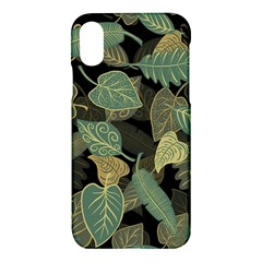 Autumn Fallen Leaves Dried Leaves Apple Iphone X Hardshell Case