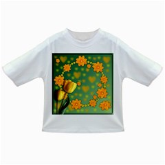 Background Design Texture Tulips Infant/toddler T Shirts
