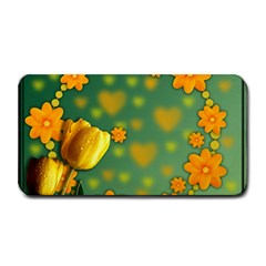 Background Design Texture Tulips Medium Bar Mats
