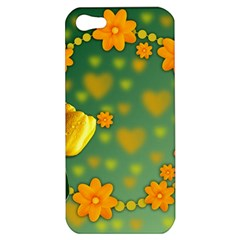 Background Design Texture Tulips Apple Iphone 5 Hardshell Case