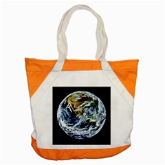 Spherical Science Fractal Planet Accent Tote Bag