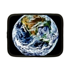 Spherical Science Fractal Planet Netbook Case (small)