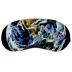 Spherical Science Fractal Planet Sleeping Masks by Nexatart