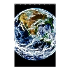 Spherical Science Fractal Planet Shower Curtain 48  X 72  (small)  by Nexatart