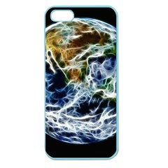 Spherical Science Fractal Planet Apple Seamless Iphone 5 Case (color)