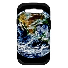 Spherical Science Fractal Planet Samsung Galaxy S Iii Hardshell Case (pc+silicone) by Nexatart