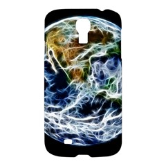 Spherical Science Fractal Planet Samsung Galaxy S4 I9500/i9505 Hardshell Case