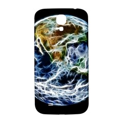 Spherical Science Fractal Planet Samsung Galaxy S4 I9500/i9505  Hardshell Back Case by Nexatart