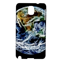 Spherical Science Fractal Planet Samsung Galaxy Note 3 N9005 Hardshell Case by Nexatart