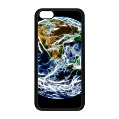 Spherical Science Fractal Planet Apple Iphone 5c Seamless Case (black) by Nexatart