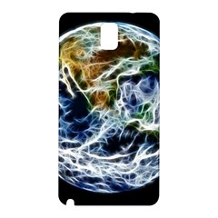 Spherical Science Fractal Planet Samsung Galaxy Note 3 N9005 Hardshell Back Case by Nexatart