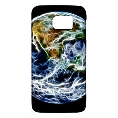 Spherical Science Fractal Planet Samsung Galaxy S6 Hardshell Case