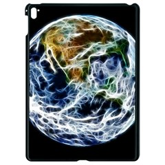 Spherical Science Fractal Planet Apple Ipad Pro 9 7   Black Seamless Case