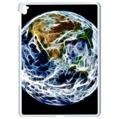 Spherical Science Fractal Planet Apple Ipad Pro 9 7   White Seamless Case