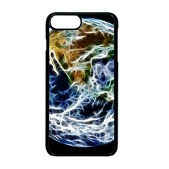 Spherical Science Fractal Planet Apple Iphone 8 Plus Seamless Case (black) by Nexatart