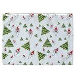 Christmas Santa Claus Decoration Cosmetic Bag (XXL) Front