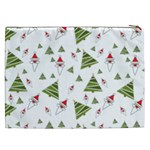 Christmas Santa Claus Decoration Cosmetic Bag (XXL) Back