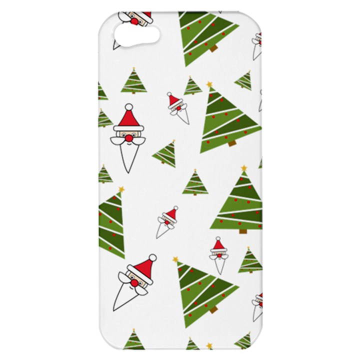 Christmas Santa Claus Decoration Apple iPhone 5 Hardshell Case