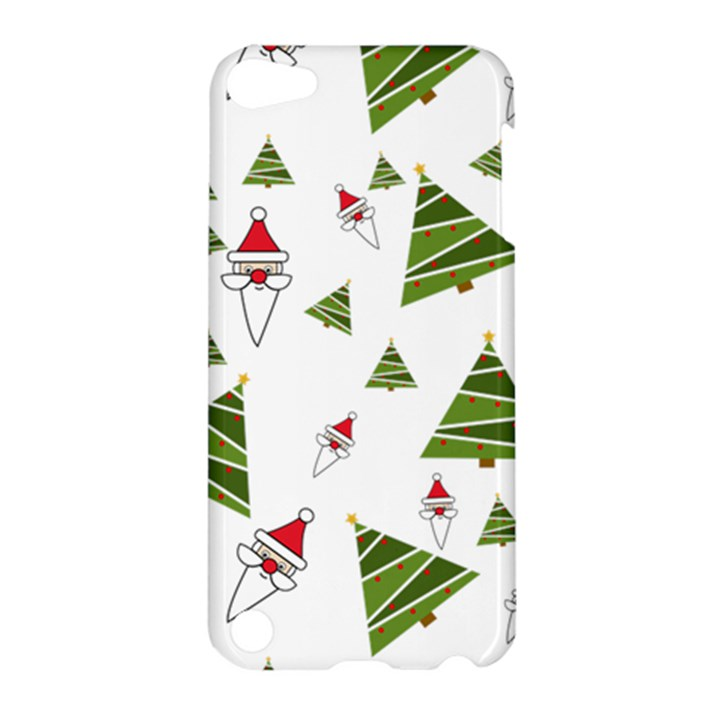 Christmas Santa Claus Decoration Apple iPod Touch 5 Hardshell Case