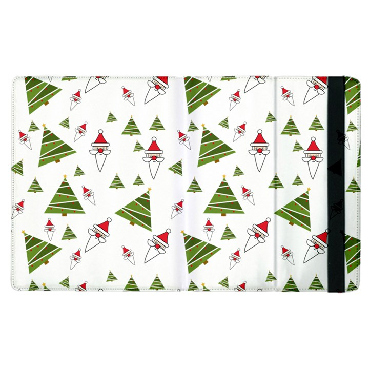 Christmas Santa Claus Decoration Apple iPad 3/4 Flip Case