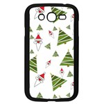 Christmas Santa Claus Decoration Samsung Galaxy Grand DUOS I9082 Case (Black) Front