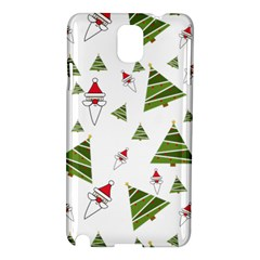 Christmas Santa Claus Decoration Samsung Galaxy Note 3 N9005 Hardshell Case