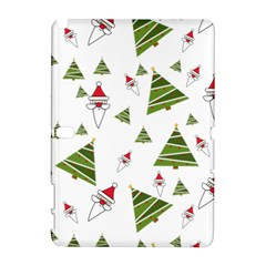 Christmas Santa Claus Decoration Samsung Galaxy Note 10 1 (p600) Hardshell Case by Nexatart