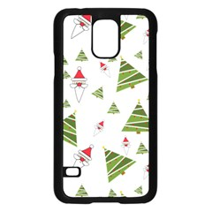 Christmas Santa Claus Decoration Samsung Galaxy S5 Case (black) by Nexatart