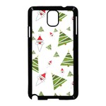 Christmas Santa Claus Decoration Samsung Galaxy Note 3 Neo Hardshell Case (Black) Front