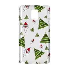 Christmas Santa Claus Decoration Samsung Galaxy Note 4 Hardshell Case by Nexatart