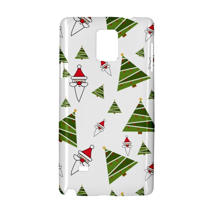 Christmas Santa Claus Decoration Samsung Galaxy Note 4 Hardshell Case