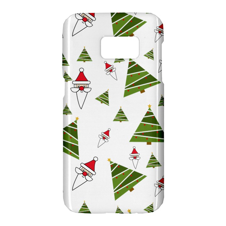 Christmas Santa Claus Decoration Samsung Galaxy S7 Hardshell Case