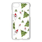 Christmas Santa Claus Decoration Apple iPhone 7 Seamless Case (White) Front