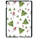 Christmas Santa Claus Decoration Apple iPad Pro 9.7   Black Seamless Case Front