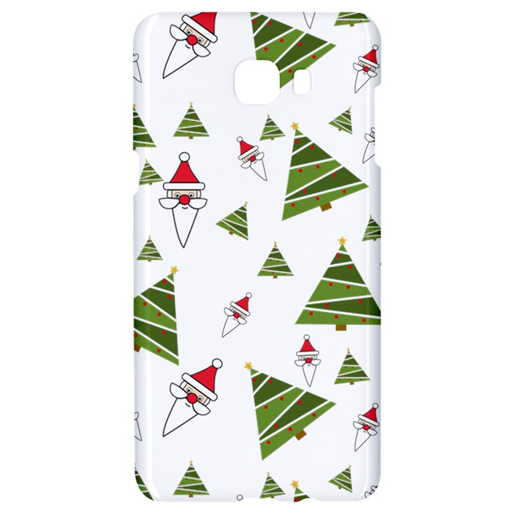 Christmas Santa Claus Decoration Samsung C9 Pro Hardshell Case