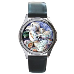 Model Color Traditional Round Metal Watch by Nexatart