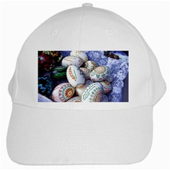 Model Color Traditional White Cap