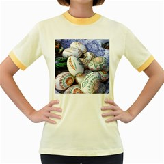 Model Color Traditional Women s Fitted Ringer T Shirt by Nexatart