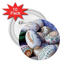 Model Color Traditional 2.25  Buttons (10 pack)