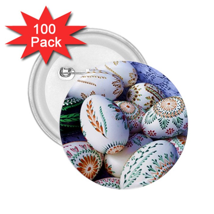 Model Color Traditional 2.25  Buttons (100 pack)