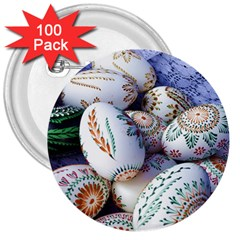 Model Color Traditional 3  Buttons (100 pack)