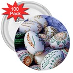 Model Color Traditional 3  Buttons (100 pack)  Front