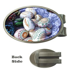 Model Color Traditional Money Clips (Oval)