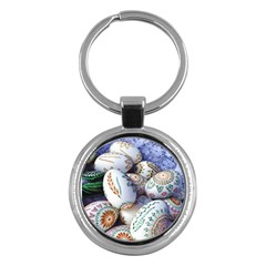 Model Color Traditional Key Chains (Round)