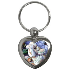 Model Color Traditional Key Chains (Heart)