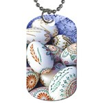 Model Color Traditional Dog Tag (One Side) Front