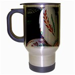 Model Color Traditional Travel Mug (Silver Gray) Left